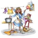 faccende domestiche donna