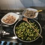 grano saraceno, sgombro e zucchine2